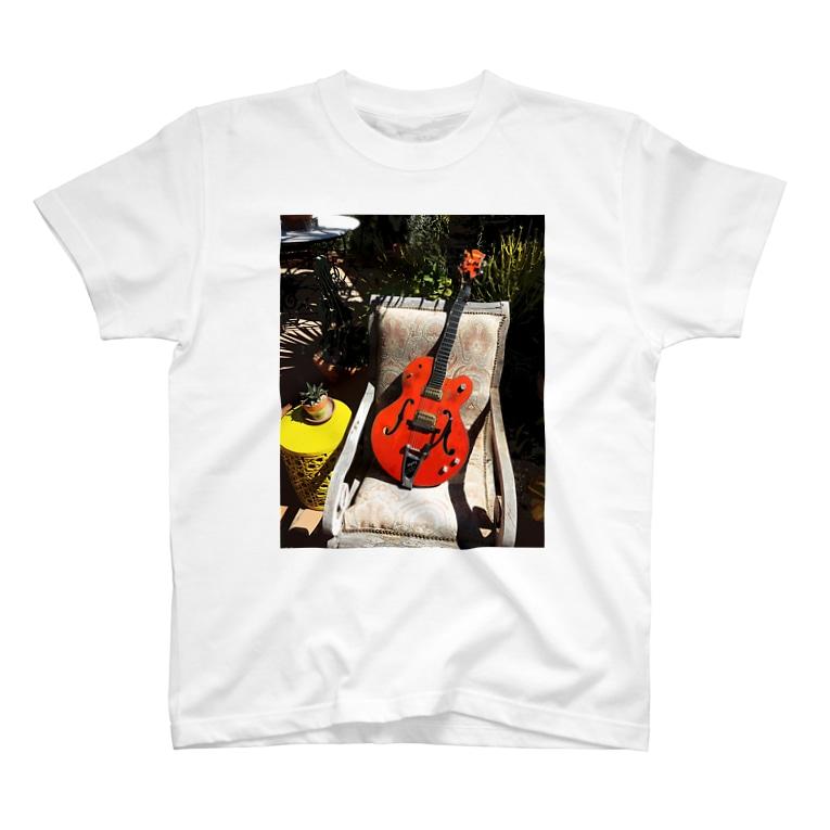 Yuki's AtelierのGretsch6120 T-shirts
