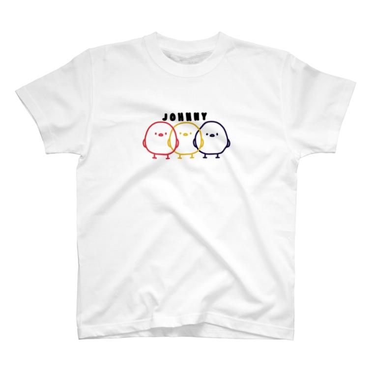 【CRAYON LAND】の影分身の術 T-shirts