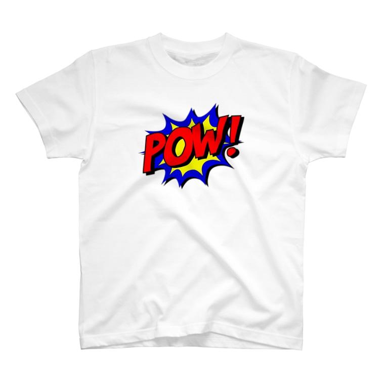 GliateWorkShopのPOW! T-shirts