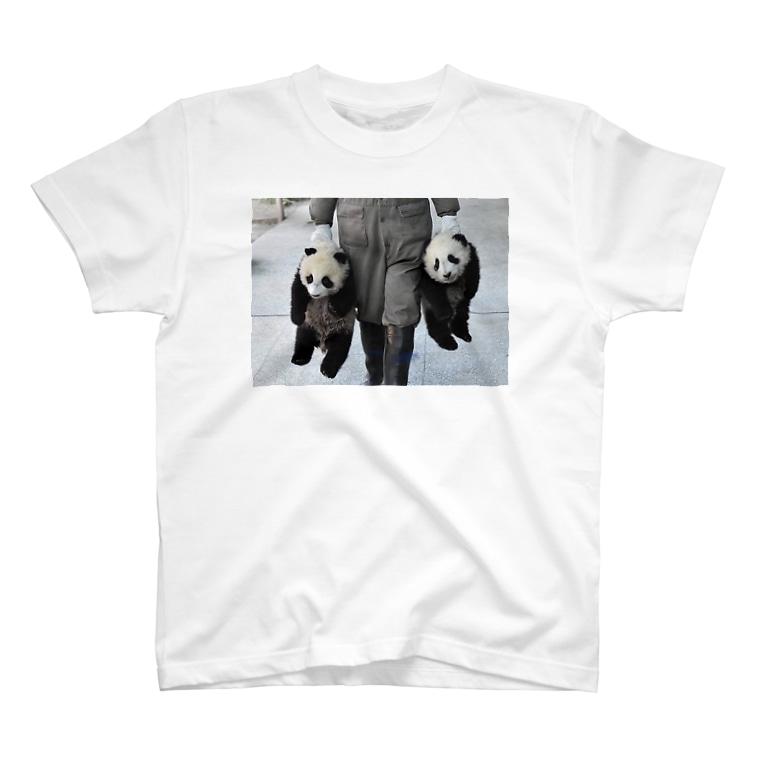 HKG パンダのパンダ誘拐 T-Shirt