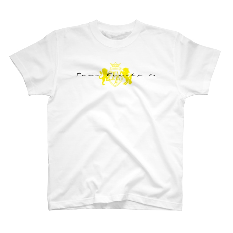 Tomo Family 63の片面ロゴTシャツ T-Shirt