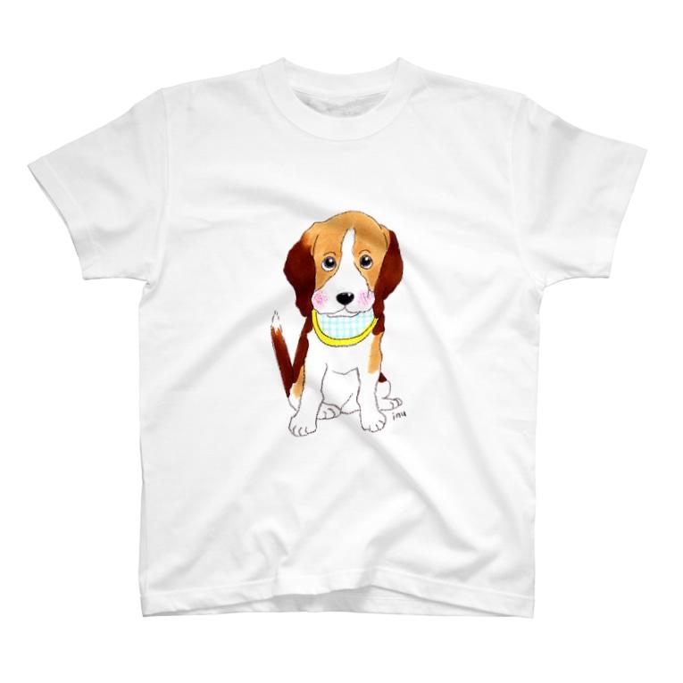 いぬけんやさんのビーグルTシャツ T-shirts