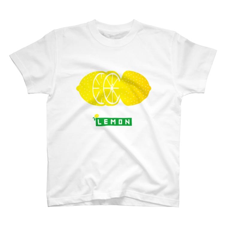 Cɐkeccooのこれでもフルーツ★レモン-輪切り T-Shirt