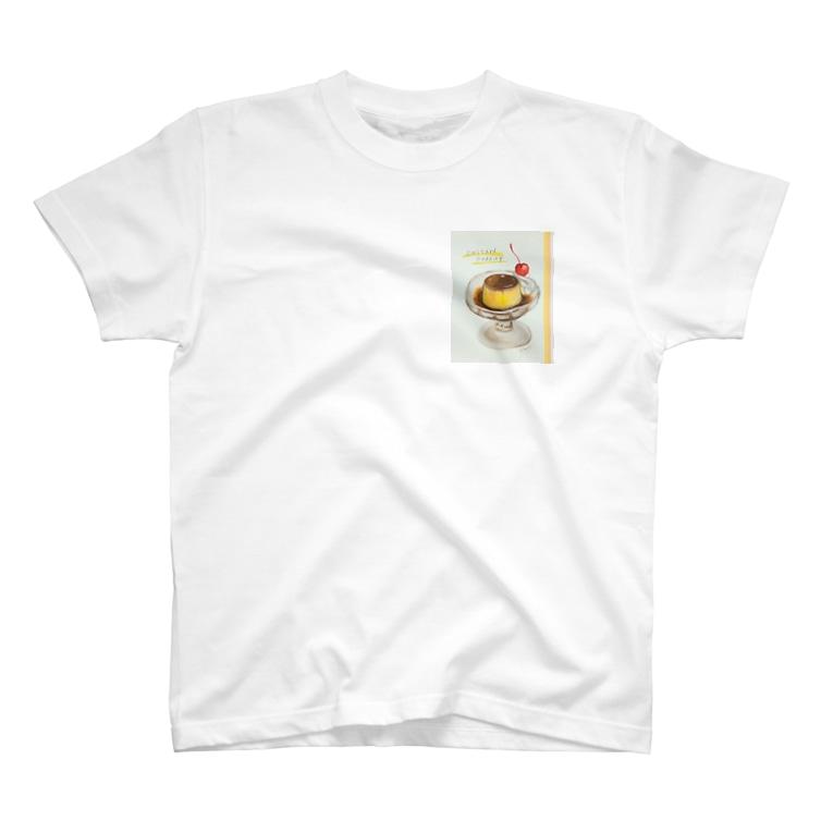 kazaruruの喫茶プリン T-shirts