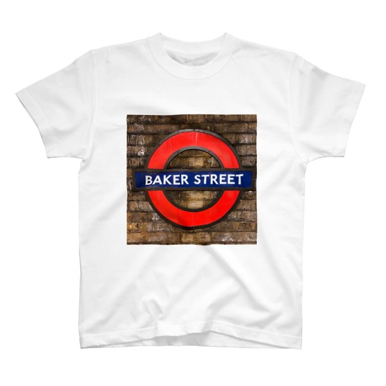 tante gartenのベイカーストリート T-shirts