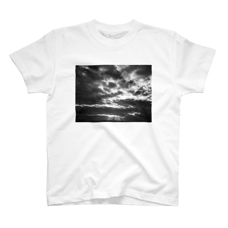 All Aloneのsunrise T-shirts