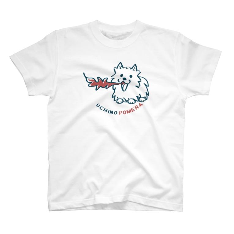 *suzuriDeMONYAAT*のCT43 POMERA_A I'M WORKING T-shirts