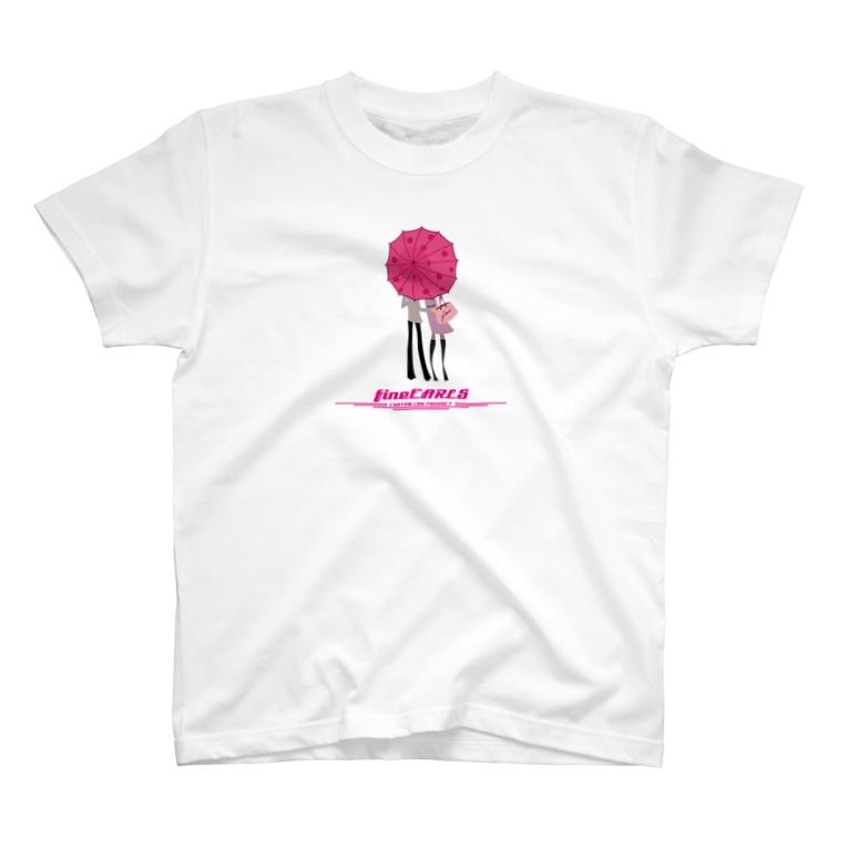 fineEARLS/ファインアールのrainjune T-shirts