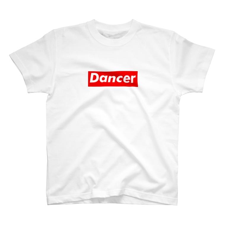カマラオンテのDancer ダンサー  ボックスロゴ  T-shirts