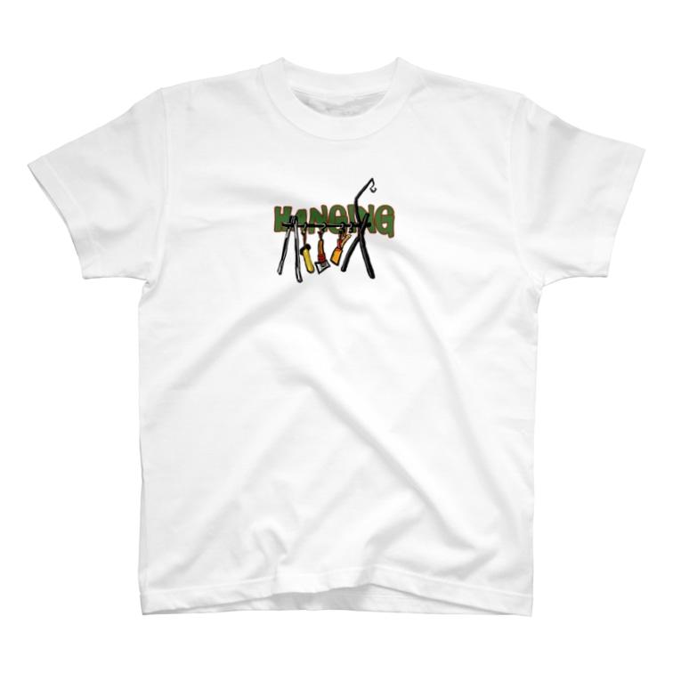 キャンプ&ボストンテリア です!のcamper  T-shirts