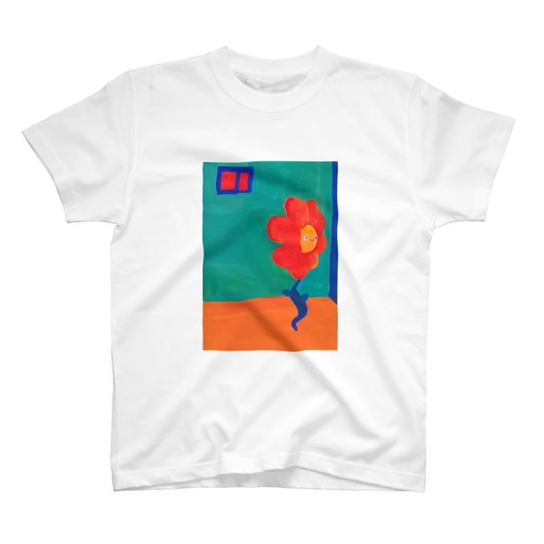 まちだりの夏のお花ちゃん T-Shirt