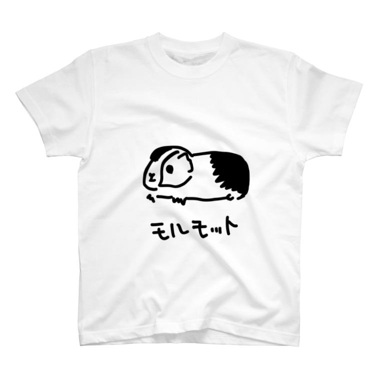 いきものや のの(本館)のモルモット T-shirts