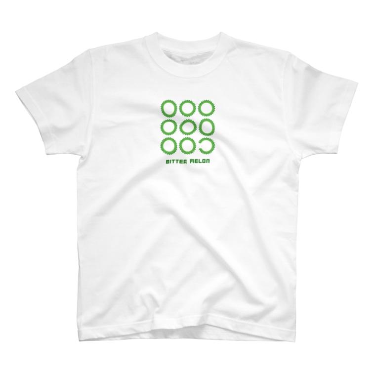 PokuStarのゴーヤの輪切り T-Shirt