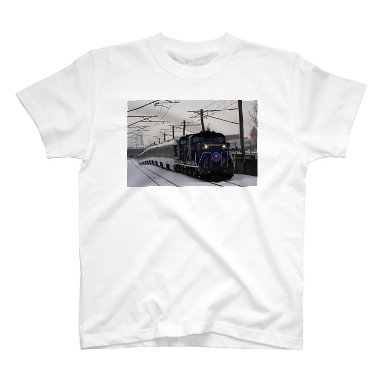 Love Trainの寝台特急カシオペア グッズ T-Shirt