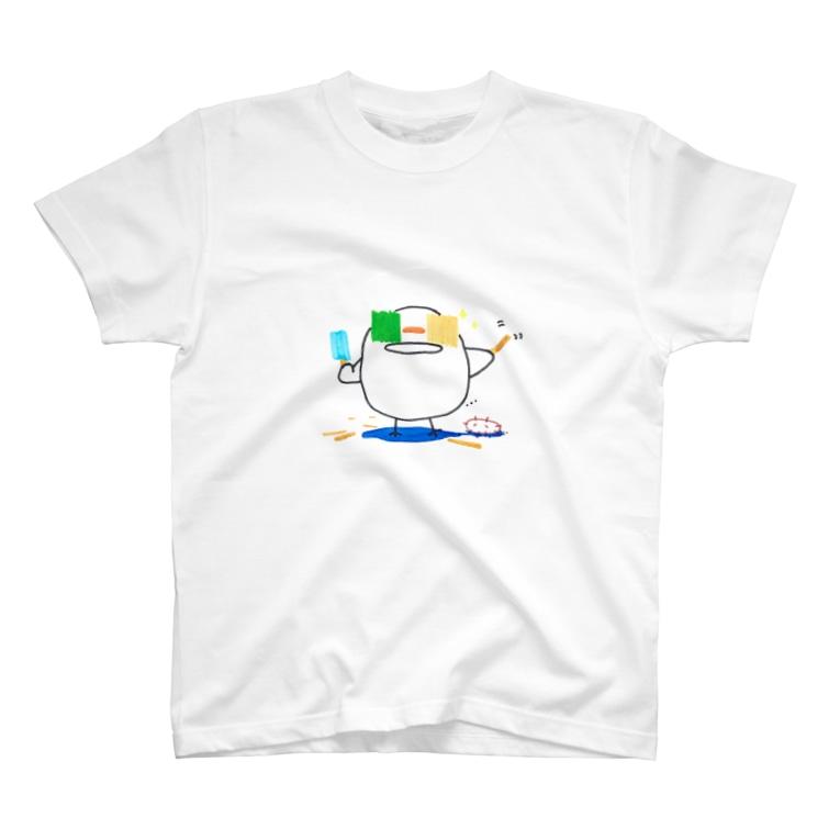 主。のひよこさんの夏休み 0815 T-Shirt