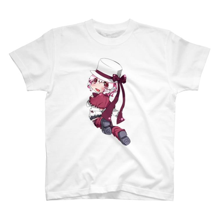 SEOのホワイトハットジャパンの白野おぷち T-Shirt