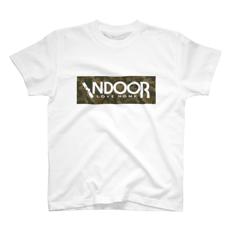 めいぷるのインドア派!(迷彩) T-Shirt