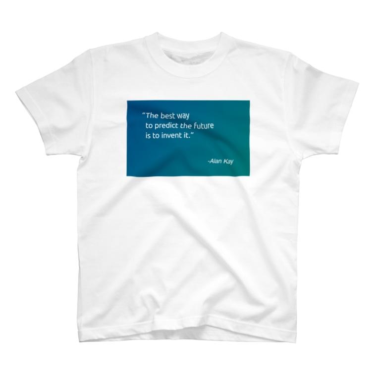 Particlightの未来を予測する最善の方法は、それを発明することだ T-shirts