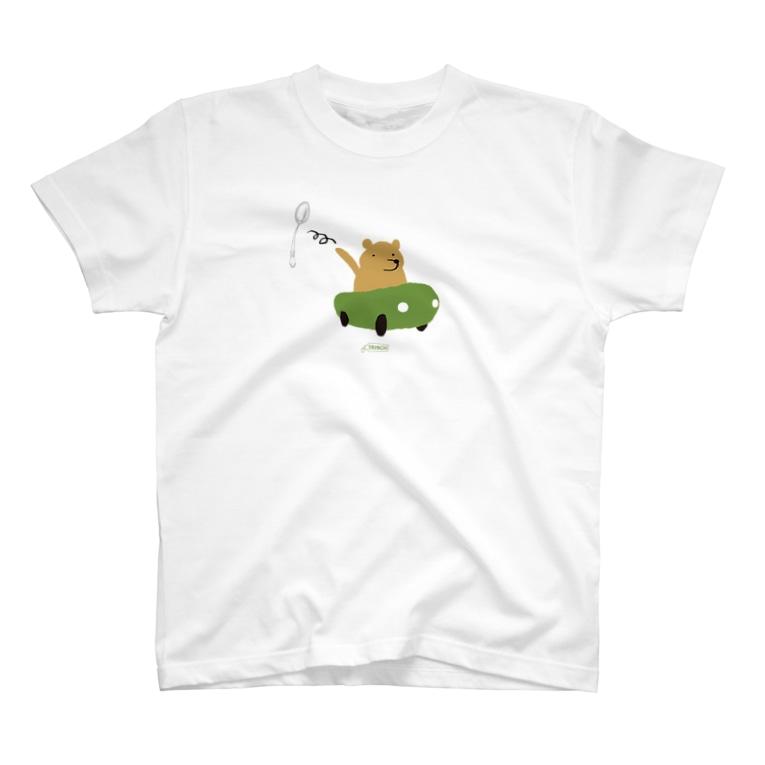 TRINCHの鶏肋印 05 T-shirts