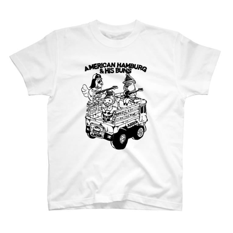 AHHBの家畜運搬車 T-shirts