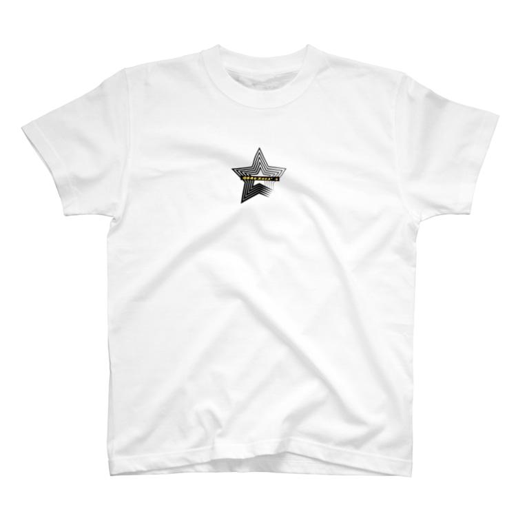 Q64o Xsea's (クロシオ クロッシーズ)のSPEED STAR T-shirts
