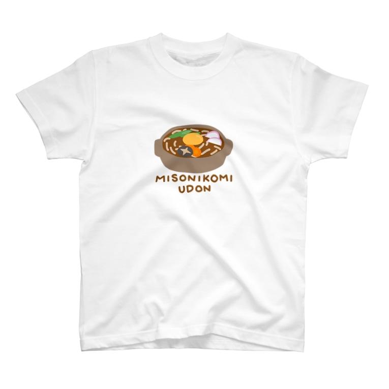 はむかつ*🐖🐖🐖の味噌煮込みうどん T-shirts