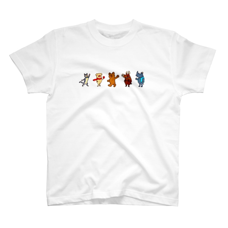 Atelier*Lorschのローシュと仲間たち1 T-shirts