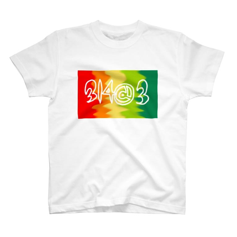 あやかのレインボー T-shirts