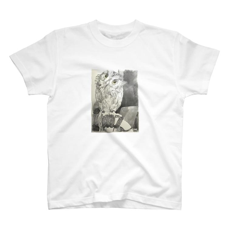 yuki-rinのフクロウ T-shirts
