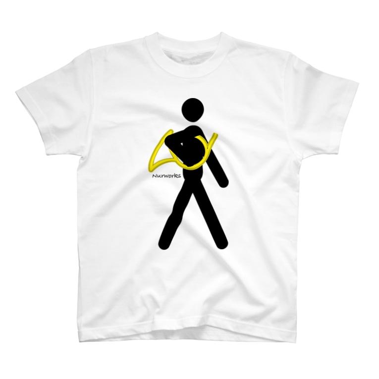 ぬるのThe Walking Hornist w/o Logo T-shirts