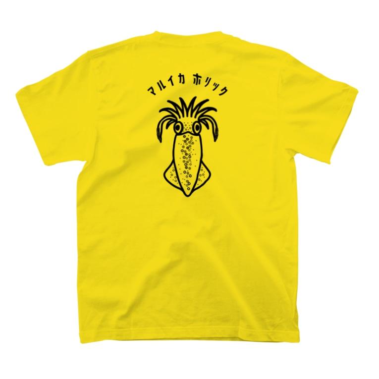 釣りバカ Love Fishingの【NEW】両面印刷/マルイカホリック T-Shirtの裏面