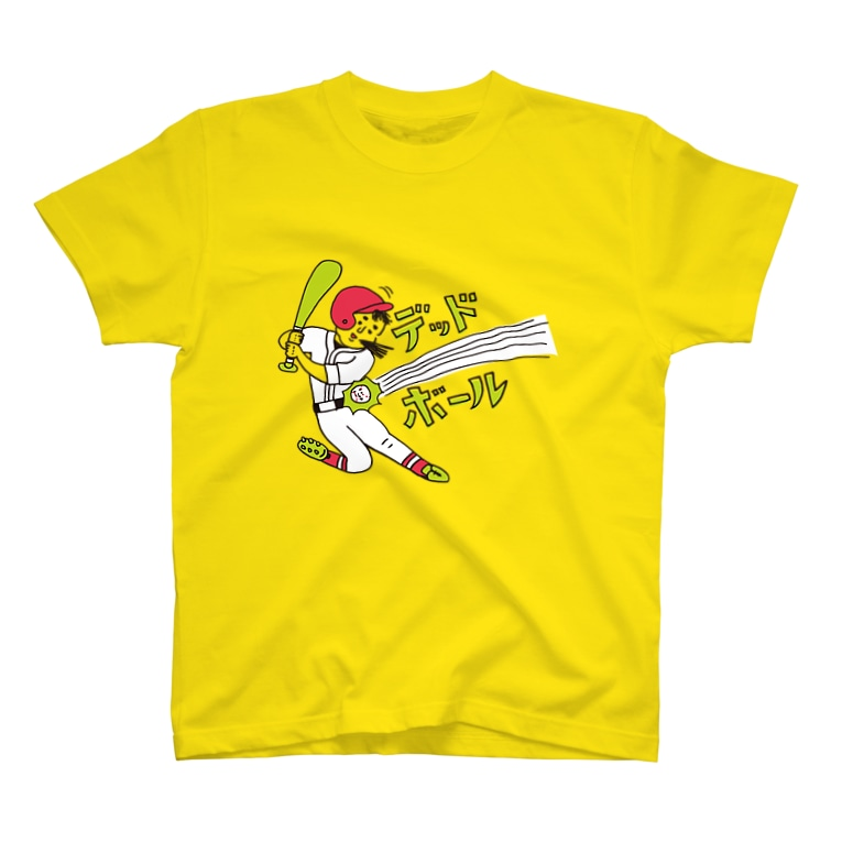 OKAMEの野球シリーズ デッドボール T-shirts