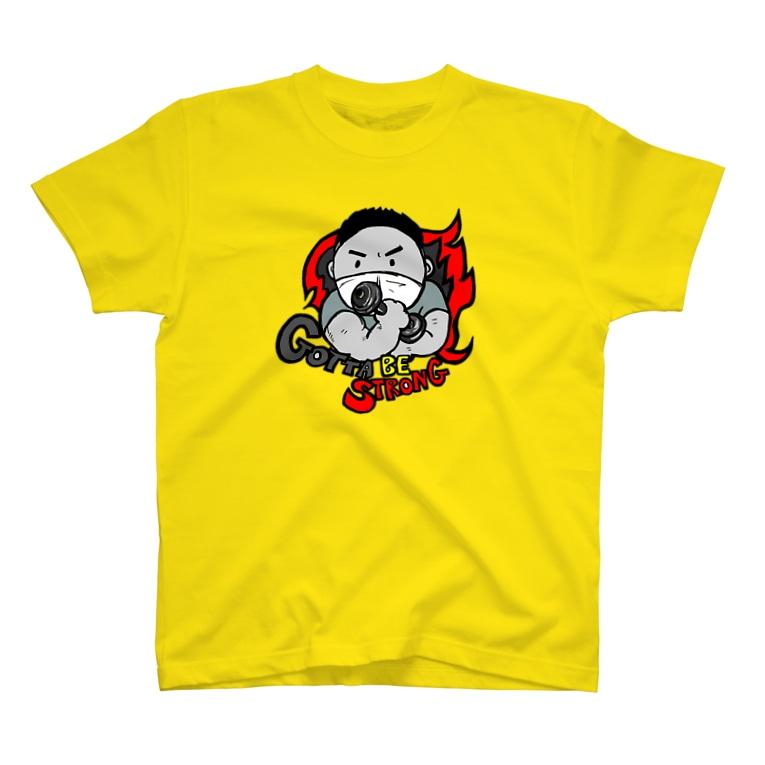 TOMMY★☆ZAWA ILLUSTRATIONのGotta be strong T-Shirt