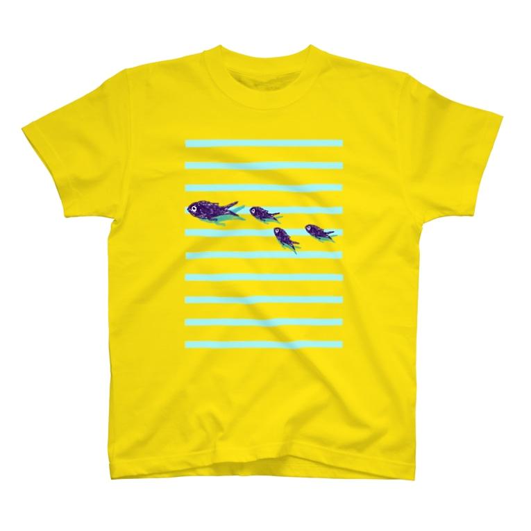 NIKORASU GOのこの夏のおすすめ!「サカナサカナサカナサカナサカナサカナ」 T-Shirt