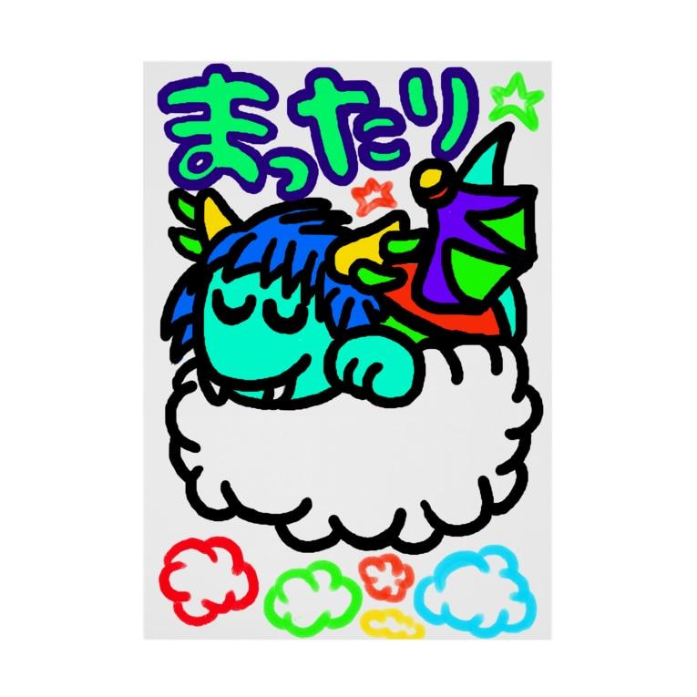 dorihopuのまったり青龍 Stickable poster