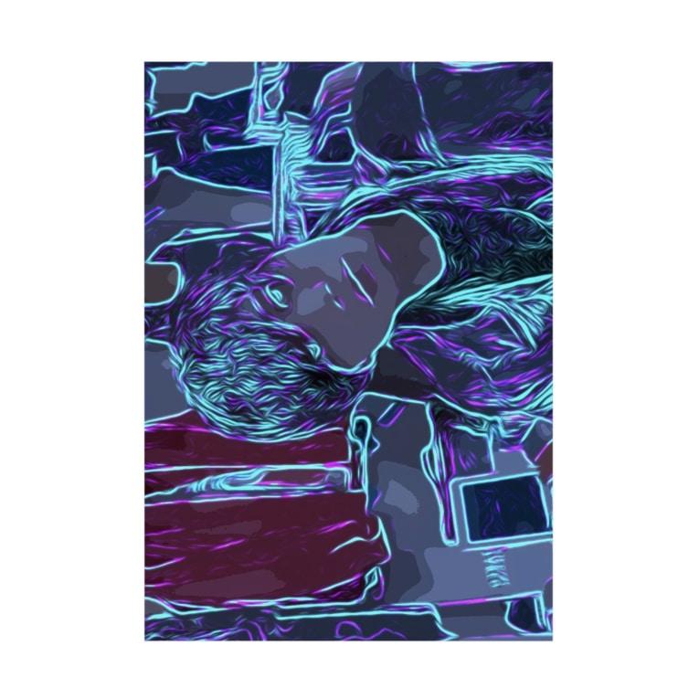 HenDrixxx StoReのネオン Stickable Poster