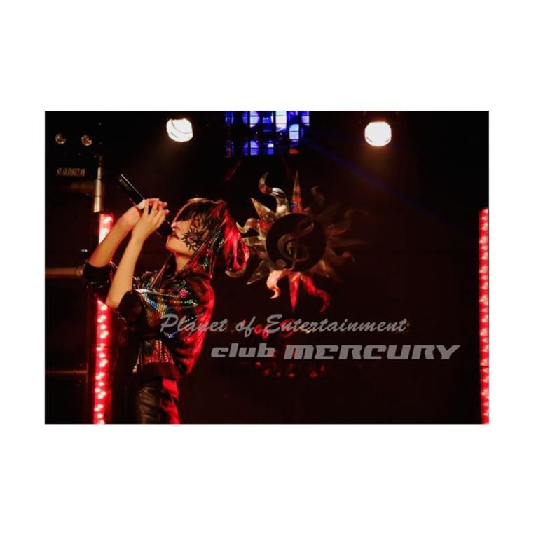 club MERCURYのteto genic Stickable posterの横向き
