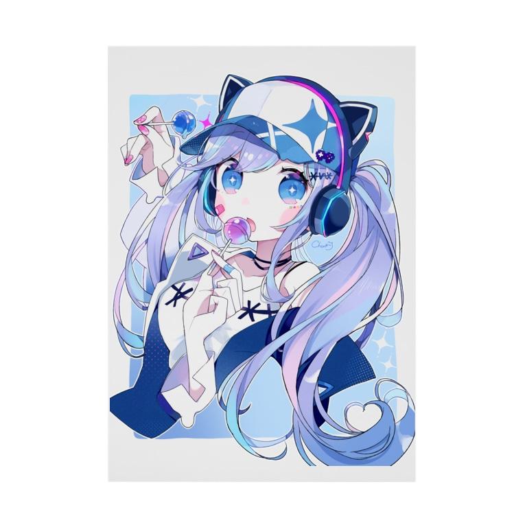 chon*のDrop Stickable poster