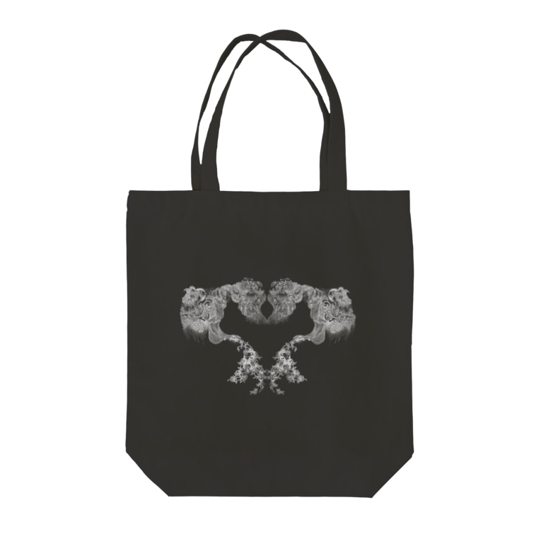 ThalassaのHeart Rocaille Tote bags
