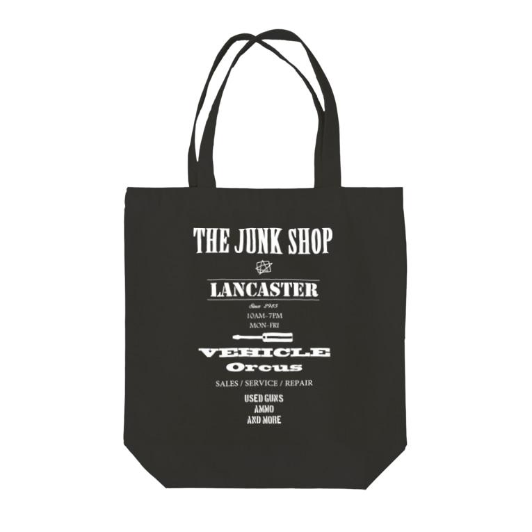 THE JUNK SHOPのジャンク屋スタッフ Tote bags