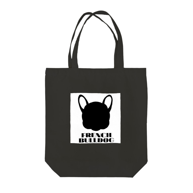 French Friendsのフレンチブルドッグ雑貨 Tote bags