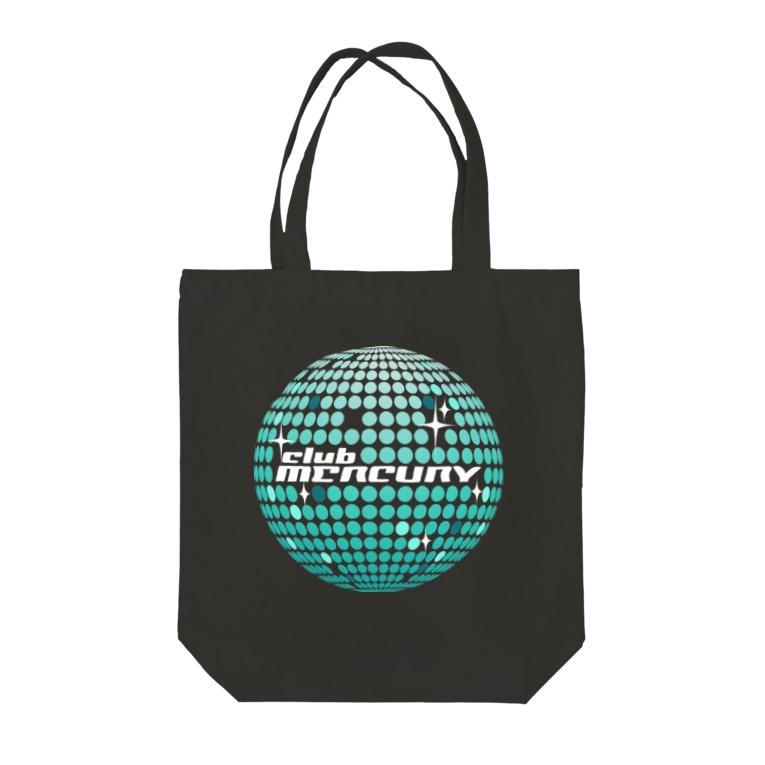 club MERCURYのミラーボールトート Tote bags