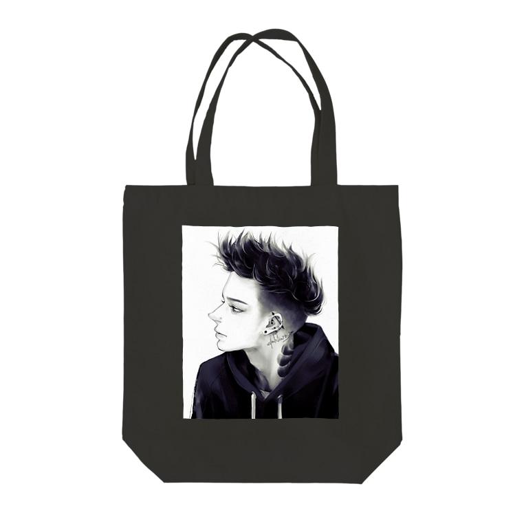 dahlia shop SUZURIのUntitled 6 Tote Bag