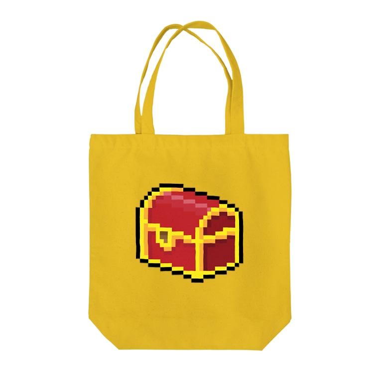 semioticaのHAPPY BOX Tote bags