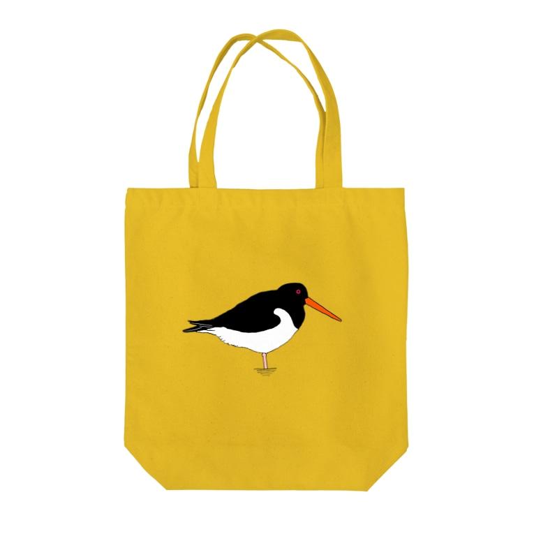 minatoriのミヤコドリさん Tote bags