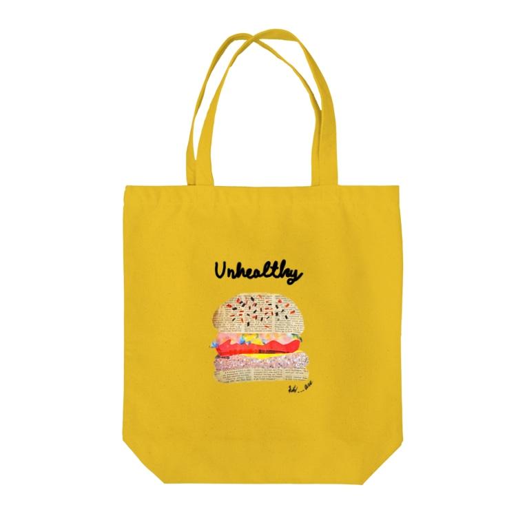 koto___art.のUnhealthy Tote Bag
