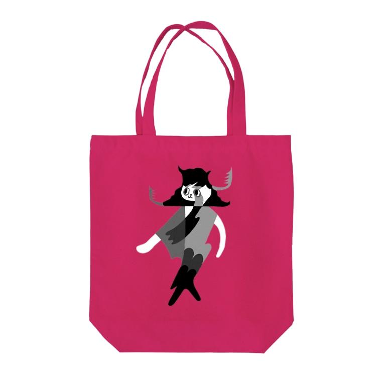 MUMBLEBOYのWALK THIS WAY Tote Bag