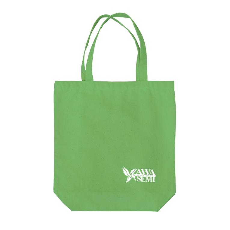 カワセミデザイン舎のカワセミデザイン舎 Tote bags