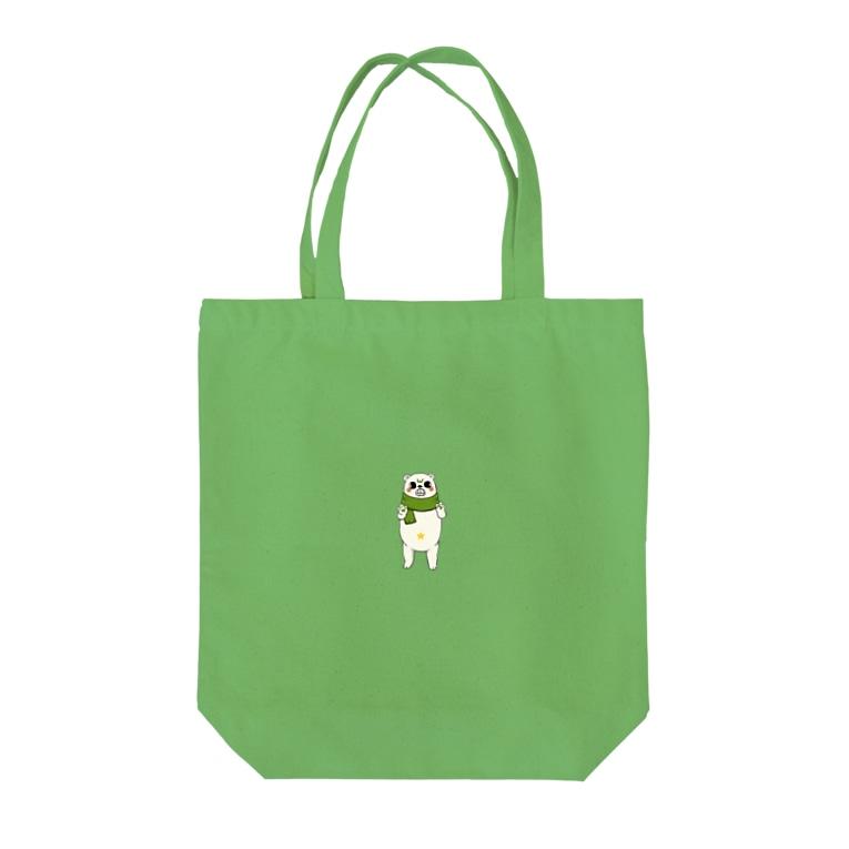 WORKlifeのバグマくん Tote bags
