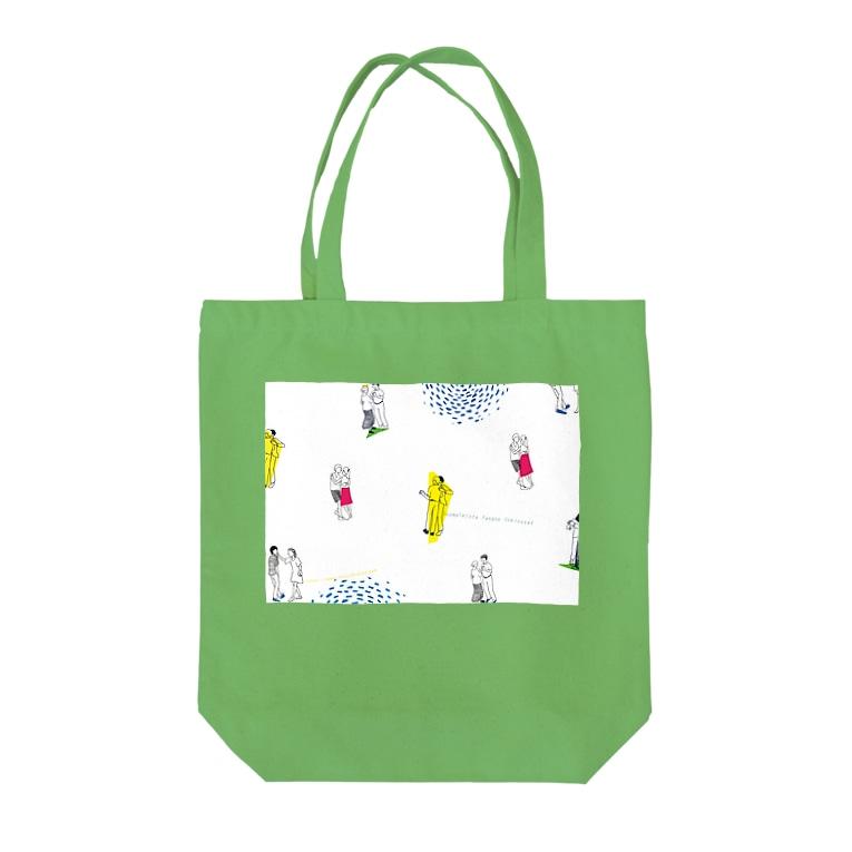 FINTANの東京deフィンランドタンゴ Tote bags